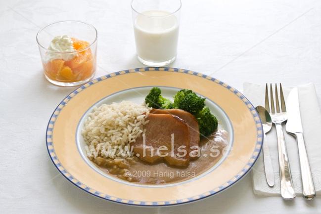 Kokt ris kcal