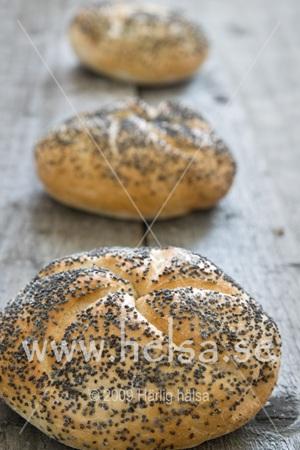 bröd med sesamfrö